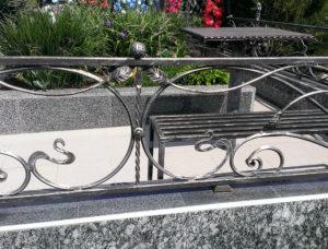 ковка ограды